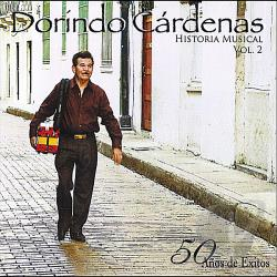 Dorindo Cardenas - Dorindo Cardenas Historia Musical Vol. 2 CD Cover Art