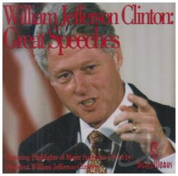 Clinton, Bill - Great Speeches CD Cover Art