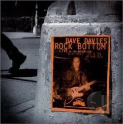 Davies, Dave - Rock Bottom: Live at the Bottom Line CD Cover Art
