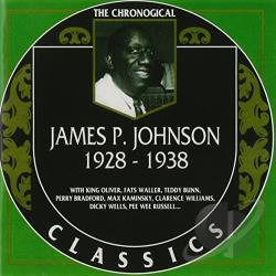 Johnson, James P. - 1928-1938 CD Cover Art