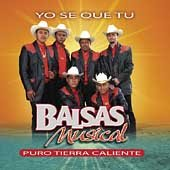 Balsas Musical - Yo Se Que Tu CD Cover Art