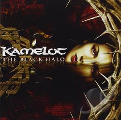 Kamelot - Black Halo CD Cover Art