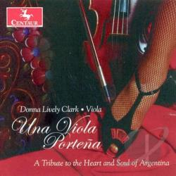 Clark, Donna Lively - Una Viola Portena CD Cover Art