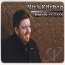 Kitchen, Nick - Heart Wide Open CD Cover Art