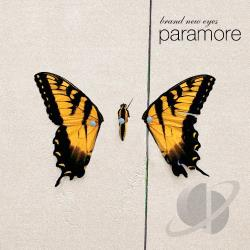 Paramore - Brand New Eyes CD Cover Art