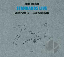 Jarrett, Keith - Standards Live: Touchstones Series CD Cover Art