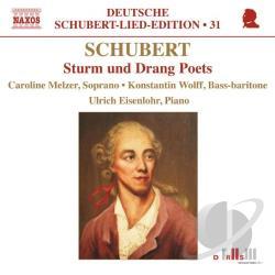 Eisenlohr / Melzer / Schubert / Wolff - Schubert: Sturm und Drang Poets CD Cover Art