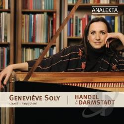 Handel / Soly - Handel in Darmstadt CD Cover Art