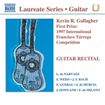 Gallagher, Kevin - Guitar Recital CD Cover Art