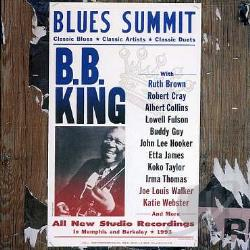 King, B.B. - Blues Summit CD Cover Art
