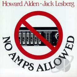 Alden, Howard - No Amps Allowed CD Cover Art