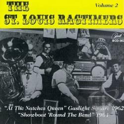 St. Louis Ragtimers - Volume 2 CD Cover Art
