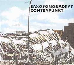 Saxofonquadrat - Contrapunkt CD Cover Art