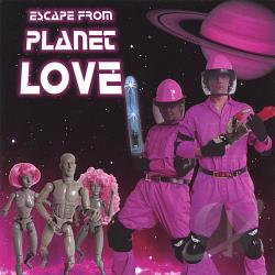 Mystechs - Escape from Planet Love CD Cover Art