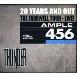 Thunder - 20 Years and Out CD Cover Art