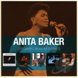 Baker, Anita - Original Album Series CD Cover Art