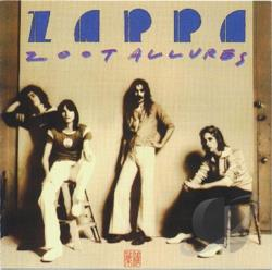 Zappa, Frank - Zoot Allures CD Cover Art