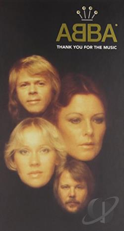 ABBA - Thank You for the Music CD Cover Art