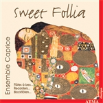 Blavet / Couperin / Ensemble Caprice / Purcell - Sweet Follia CD Cover Art