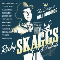 Skaggs, Ricky - Sing The Songs Of Bill Monroe CD Cover Art
