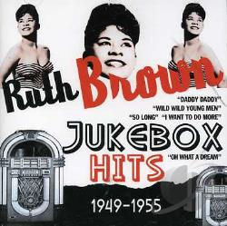 Brown, Ruth - Jukebox Hits 1949-1955 CD Cover Art