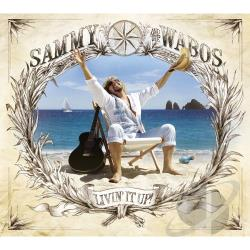 Hagar, Sammy / Sammy & the Wabo's - Livin' It Up! CD Cover Art