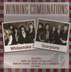 Scorpions / Whitesnake - Winning Combinations CD Cover Art