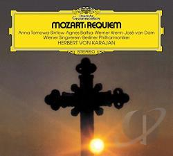 Baltsa / Bpo / Karajan / Krenn / Mozart - Mozart: Requiem CD Cover Art