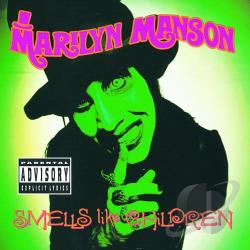 Manson, Marilyn - Smells Like Children CD Cover Art