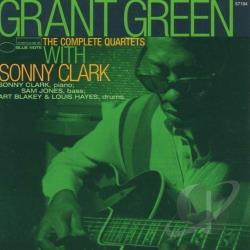 Green, Grant - Complete Quartets with Sonny Clark CD Cover Art