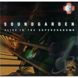 Soundgarden - Alive In The Super Unknown CD Cover Art