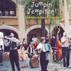 Casco Bay Tummlers - Jumpin' Jewpiter CD Cover Art