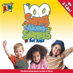 Cedarmont Kids - 100 Singalong Songs for Kids CD Cover Art