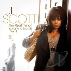 Scott, Jill - Real Thing: Words and Sounds, Vol. 3 CD Cover Art