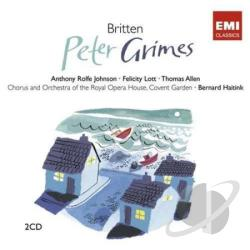 Haitink, Bernard - Britten: Peter Grimes CD Cover Art