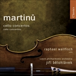 Belohlavek / Cpo / Martinu / Wallfisch - Martinu: Cello Concertos; Cello Concertino CD Cover Art