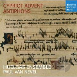 Huelgas Ensemble / Van Nevel - Cypriot Advent Antiphons CD Cover Art