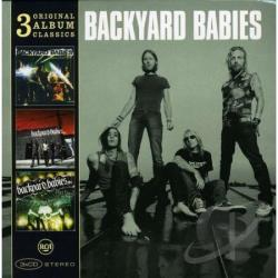 Backyard Babies - 3 Original Album Classics CD Cover Art