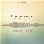 Jones, Michael - Pianoscapes - The Deluxe Edition DB Cover Art