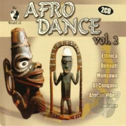 World Of Afro Dance V.2 CD Cover Art