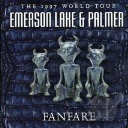 Emerson, Lake, And Palmer - Fanfare: The 1997 World Tour CD Cover Art