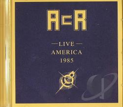 A Certain Ratio - Live America 1985 CD Cover Art