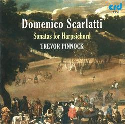 Pinnock: hpsd - Domenico Scarlatti: Sonatas for Harpsichord CD Cover Art