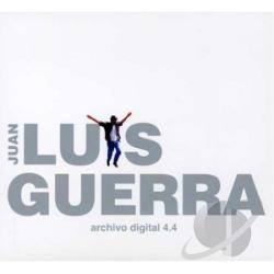 Guerra, Juan Luis - Archivo Digital 4.4 CD Cover Art