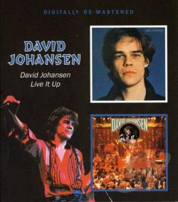Johansen, David - David Johansen/Live It Up CD Cover Art