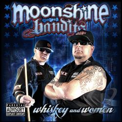 Moonshine Bandits - Whiskey and Women CD Cover Art