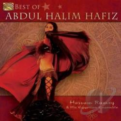 Hossam Ramzy & His Egyptian Ensemble / Ramzy, Hossam - Best of Abdul Halim Hafiz CD Cover Art