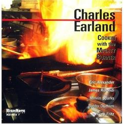 Earland, Charles - Cookin' with the Mighty Burner CD Cover Art