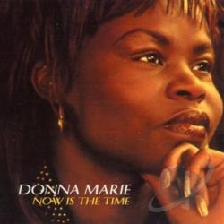 Marie, Donna - Now Is The Time CD Cover Art