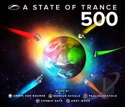 State of Trance 500 CD Cover Art